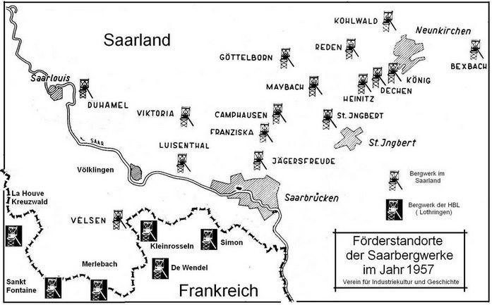 Bergbau im Saarland