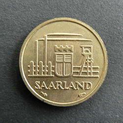 Saar Franken Münzen